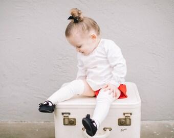 Baby RUFFLE SOCKS - PERSONALIZED, Knee High Socks, Toddler Knee High Socks