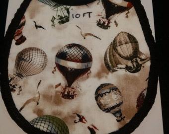 Hot Air Balloon Bib/Feeder