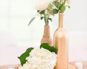 Wine Bottle Centerpiece, Wine Bottle Wedding Decor, Wine bottle Decor