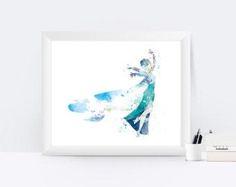 Frozen Wall Art frozen wall art | etsy
