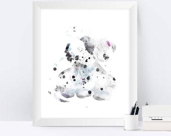 hogwarts art print hogwarts castle poster harry potter. Black Bedroom Furniture Sets. Home Design Ideas