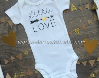Little Love Baby Onesie®/ Baby Bodysuit / Toddler TShirt / Going Home Outfit / Baby Shower Gift / Gender Neutral