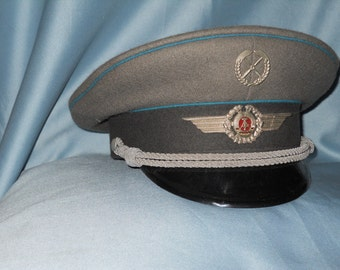 East Germany military visor cap ! DDR Air Force !!