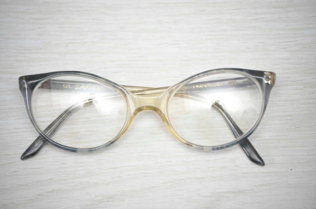 Vintage Girls Eyeglass Frames Safilo Children\'s Eyewear 1970\'s Kids ...