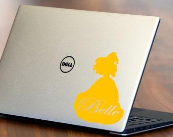 Disney Princess Belle Decal