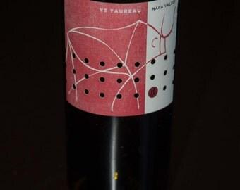 Wine Bottle Vases - Recycled Wine Bottles