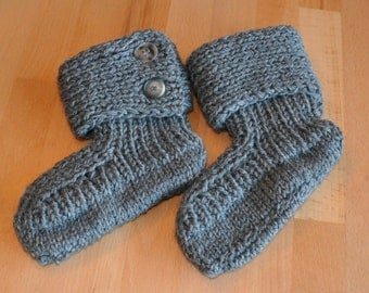 Slippers size 26/27 in grey