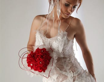 Lovely wedding Bouquet preserved flowers - Keep Your Bride Bouquet - Preserved Natural Flowers