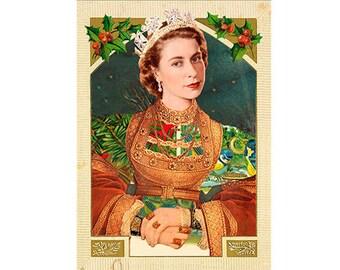 """Christmas card """"Royal Christmas"""" (01)"""