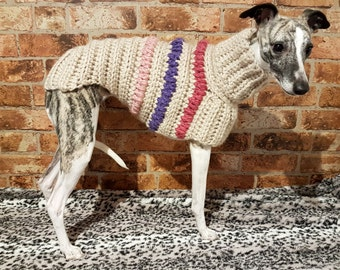 Whippet Sweater / Jumper (Small)
