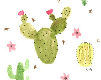 Cactus montage I