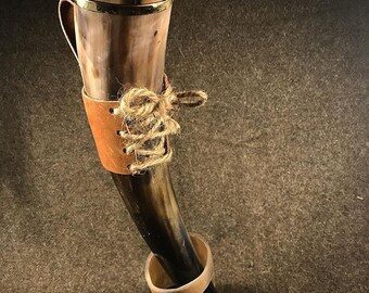 Viking Drinking Horn M(12-36oz)