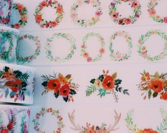 Wreath Washi Tape Wide