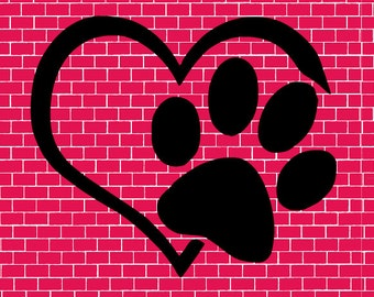 Dog Lover Decal - Paw Print Decal - Pet Decal - Yeti Pet Decal - Yeti Dog Decal - Yeti Cat Decal