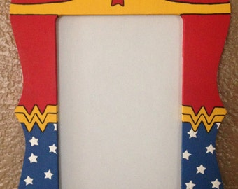 Wonder Woman 4X6 Picture Frame