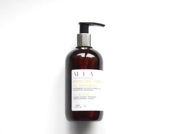 Moisture Therapy - Hair Oil Treatment | with Argan, Macadamia, Almond, Coconut & Lavender.