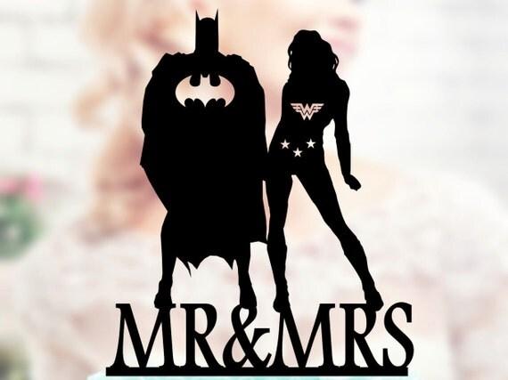 Wonder Woman And Batman Super Hero Topper Wonder Woman Topper
