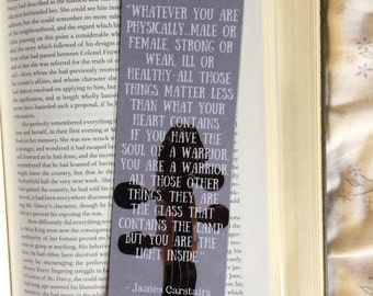 Jem Carstairs The Infernal Devices Quote Bookmark