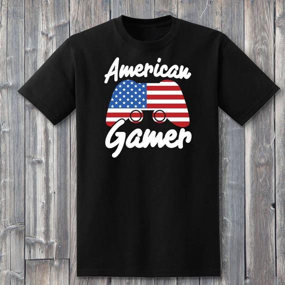 American Gamer 100% Soft Cotton Shirt