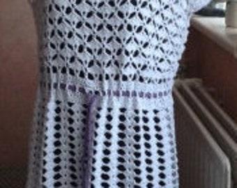 Crochet tunic