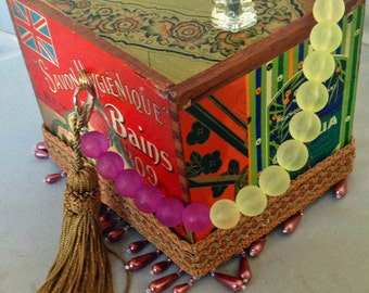 O' la la Cigar Box Purse Kit~ DIY