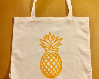 SALE**40% OFF** Tote Bag / Tote Bags / Tote / Totes / Pineapple / Pineapples / Handmade / Birthday Gift / Gift for Her / Shopping Bag