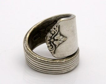 Spoon Ring - Size 5.5 - Hand Bent By The CrafsMan - Steady Craftin'