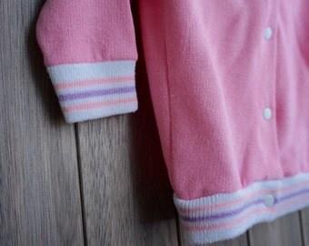 1980s Footloose Sears Pink Hoodie - Newborn