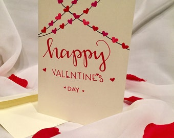 Happy Valentine's Day (Lots of Hearts) Card