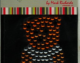 Teddy Bear Gemstone Scrapbook Stickers Embellishments Cardmaking Crafts Marc Richards