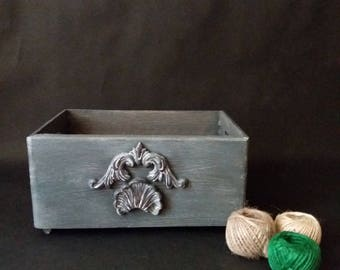 keepsake box wood storage box wood trinket box rustic storage box rustic wood box wood memory box distressed wood box cottage chic decor