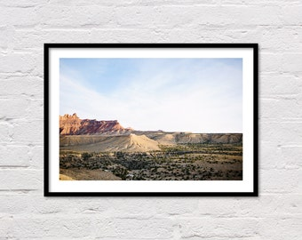 Desert Print, Desert Landscape, Printable Wall Art, Desert Photo, Southwestern Decor, Desert Photography, Digital Print, Instant Download