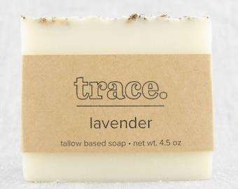 Lavender Soap / handmade soap / bar soap / cold process soap / natural soap / essential oil soap / mild soap