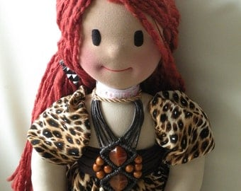 Xena by Malina Dolls - New Unique Handmade Doll