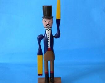 Circus Ringmaster Whirligig
