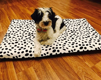 Canvas-Memory Foam-Dog Bed