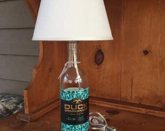 Duck Commander Wine Bottle Lamp (750ml Bottle)