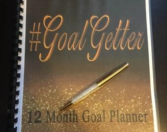 12 month #GoalGetter Planner