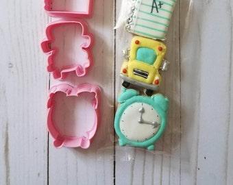 Alarm clock cookie cutter