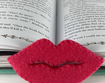 Lips Corner Bookmark