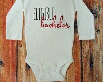 Baby Boy Clothes, Eligible Bachelor Bodysuit