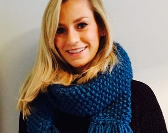 Made to Order Super Chunky Luxury Scarf, Multiple Colour Options Available, Free UK & IRL delivery