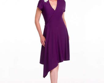 SALE - Williams Asymmetrical Wrap Dress