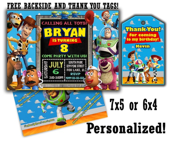 off coupon on toy story invitation sale