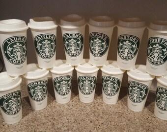 Starbucks REusable Personalized Tumbler