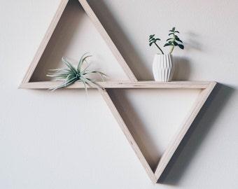 Double Triangle Shelf