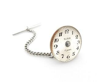 Geekery Lapel Pin - Resin Lapel Pin - Techie Lapel Pin - Gadget Lapel Pin - Clockworks Lapel Pin - Industrial Lapel Pin - Watch Lapel Pin
