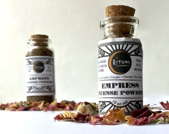 EMPRESS Incense Powder- Love, Fertility, Relationship, Glamour Rituals Loose Incense. Balanced Elements+Venus Energy wiccan magic spell