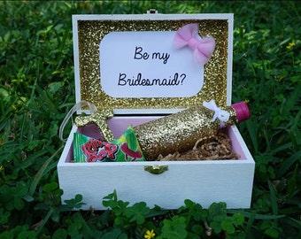 6 Bridesmaids Box, Will you be my Bridesmaid, Be my Bridesmaid