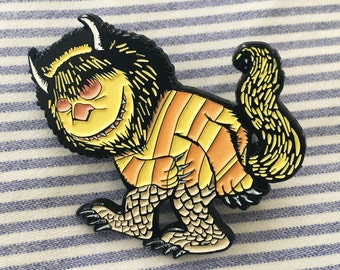 Where the Wild Things Are, Wild Thing Enamel Pin (beast, monster)